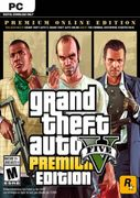 Grand Theft Auto v 5 (GTA 5): Premium Online Edition PC