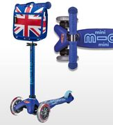 Free Limited Edition Union Jack Mini Bag When You Buy Any Mini Micro Scooter