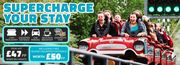 Thorpe Park Entry Overnight Stay Unlimited Fast Track - £47pp Based on 2 Adults