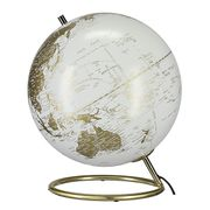 Northlight Illuminated Globe Chrome or Brass