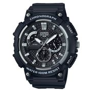Casio Men's Black Resin Strap Chronograph Watch