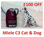 £100 off - Miele C3 - CAT & DOG - Vacuum Cleaner - £189.99 at AMAZON