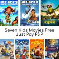 7 FREE CHILDRENS DVD MEGA BUNDLE (Just Pay £3.99 P&P)