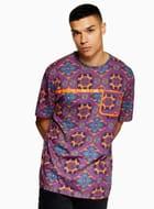 Purple 'Hyke' T-Shirt (Xxs Only)