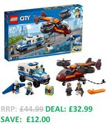 SAVE £12 - LEGO CITY Sky Police Diamond Heist