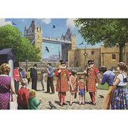 Falcon De Luxe Beefeaters at the Tower Jigsaw Puzzle - 1000 Pieces - 40% Off