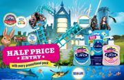Half Price Entry to Sealife Centers / Alton Towers with Carex Handwash Bottles