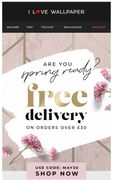 FREE Delivery Wys £30 until Midday Saturday