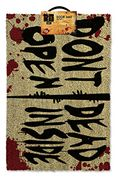 The Walking Dead Dont Open Dead inside Door Mat