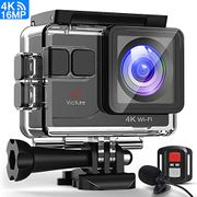 (Price Drop) Victure 4K Action Camera 16MP WiFi with Remote control