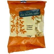 Yogurt Coated Banana Chips 125g- the Health Store