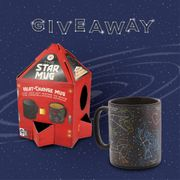 Win a Heat Changing Star Constellations Mug