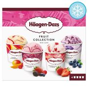Haagen-Dazs Fruit Mini Cups Ice Cream (2 for £7)