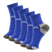 Mlove 6 Pairs of Mens Outdoor Sports Hiking Socks(Blue)