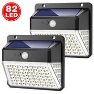 82 LED Solar Lights 270 Illumination with 3 Modes 2 Pack - Save £5