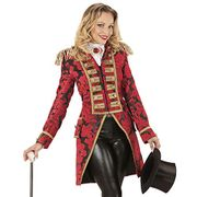 Ladies Jacquard Parade Tailcoat Fancy Dress Costume (Tailcoat Only)