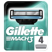 CHEAP PRICE! Gillette Mach3 Razor Blades (4 Refills)