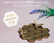 Free Trinket Dish When You Spend £25+ at Sass and Belle