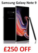 SAVE £250. Samsung Galaxy Note 9 (Single SIM) 512 GB - Midnight Black