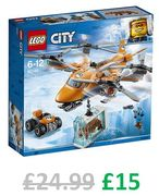 LEGO City - Arctic Air Transport Quadrocopter (60193) **4.9 STARS**