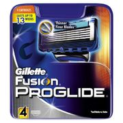 Prime Only Deal - Gillette Fusion ProGlide Razor Blades - Pack of 4