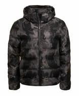 Mens Superdry Unique Sample Echo Quilt Puffer Jacket Size Medium Marl Camo