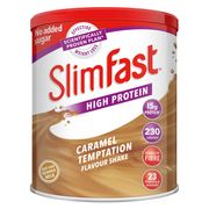 Slimfast Milkshake Powder Summer Strawberry 438g - Save £1.75