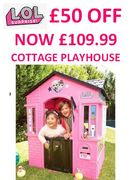 THERE'S £50 OFF LOL Surprise! Cottage Playhouse at VERY