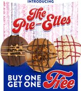 Buy One Get One Free on Tasty American Pie Donuts 15th May Only