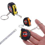 1 Piece Portable Measuring Tool Keychain Retractable Ruler Measuring Tape