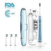 50% off - ABOX Sonic Electric Toothbrush with 3 Toothbrush Heads