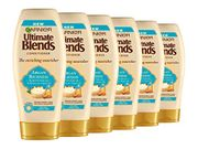 Garnier Ultimate Blends Argan Oil & Almond Cream Dry Hair Conditioner, 360ml X 6