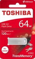 Toshiba THN-U363S0640E4 64GB U363 TransMemory USB 3.0 Flash Drive