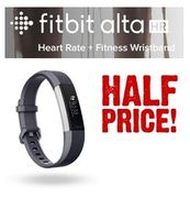 PRICE DROP! Fitbit Alta HR Activity & Fitness Tracker (Large, Grey)