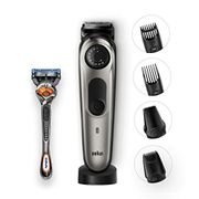 *TODAY ONLY* Braun Beard Trimmer & Hair Clipper + Free Gillette Fusion5 ProGlide