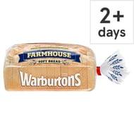 Warburtons Farmhouse White Bread 800G