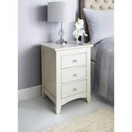 Arabella 3 Drawer Bedside Cabinet