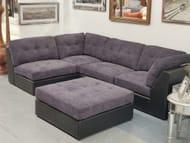 The Palladium Modular Corner Sofa Coastal Slate