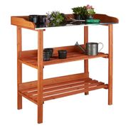 Wooden 3 Shelves Plant Table - 47% Off