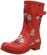 BARGAIN PRICE Joules Red Wellies - Sizes 3, 4, 5, 6, 7, 8