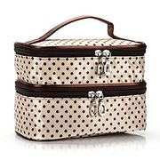 Sliwei Double Layer Cosmetic Bag Only £3.6