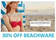 30% off Beachware at Accessorize