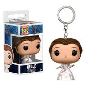 Funko Pocket Pop Beauty & the Beast Celebration Belle Keychain