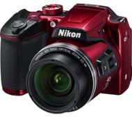 NIKON COOLPIX B500 Bridge Camera (Red/Black) - Save £25