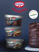 £1 Rich Chocolate Dr. Oetker Buttercream Style Icing (Cashback)