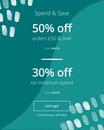 Photobox - save 50% When Spending £50 & over