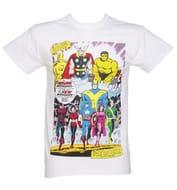 Truffle Shuffle Mens Classic Avengers T Shirt