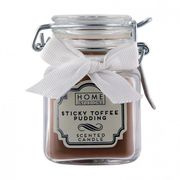 Clip Top Jar Candle - Sticky Toffee Pudding