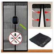 Magnetic Mesh Door Protective Curtain