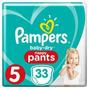 Pampers Baby Dry Pants 33 Nappies